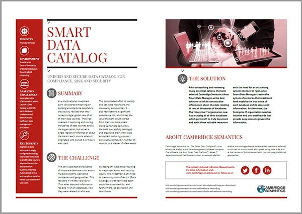 smart data catalog